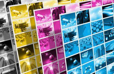 Planchas de cuatricomía Gráfica Los Majuelos
